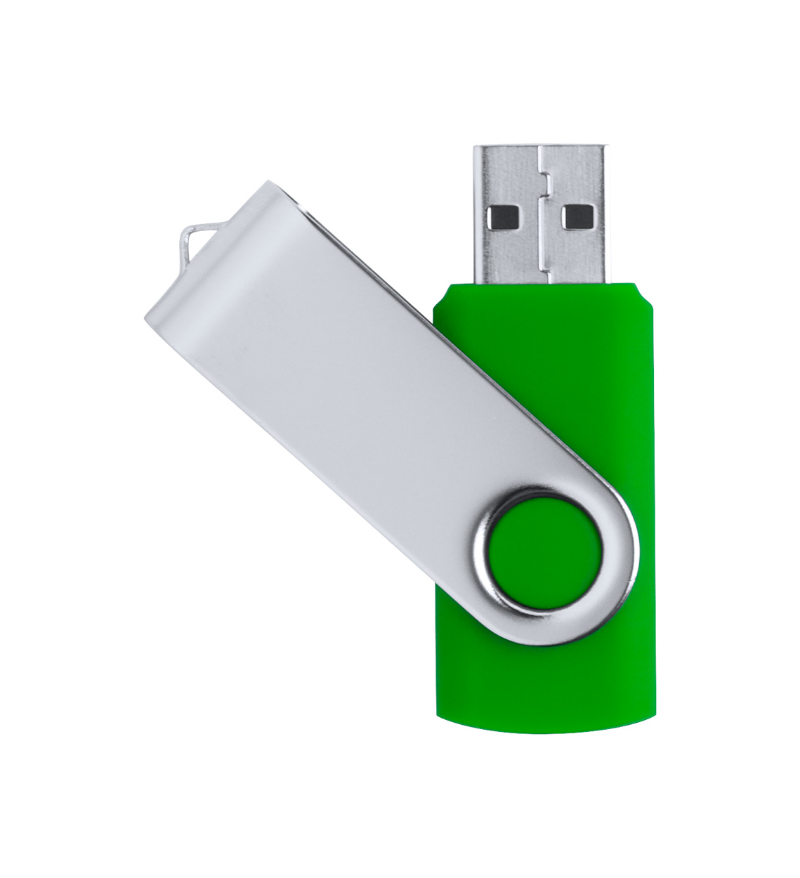 Twister USB flash disk, 16 GB - zelený